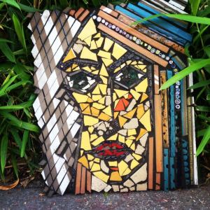 grouted face